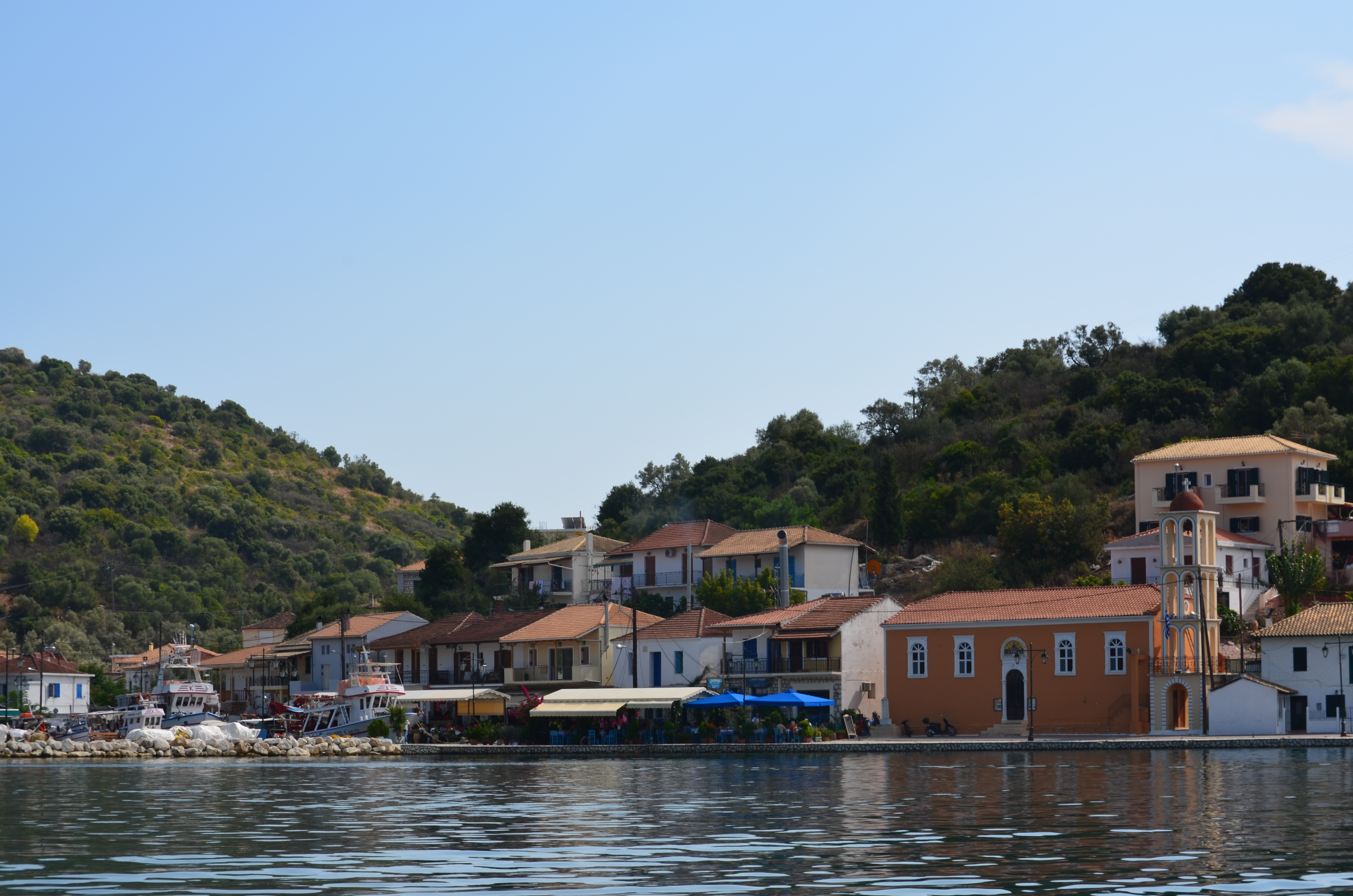 A view from Meganissi