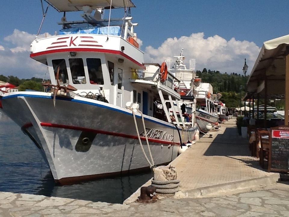 A regular view of boats
